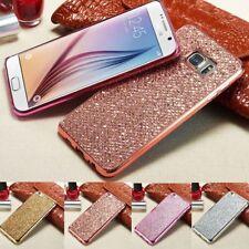 For LG G6 G5 G4 G3 Phone Case Bling Glitter Ultra Slim Rubber TPU Back Cover