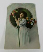 Vintage Antique Postcard Early 1900s Rare Greeting Card Collectible