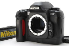 Nikon D100 Digital SLR black Body only w/ Battery Charger Cap Excellent Japan 32