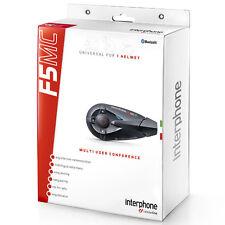 Interphone F5MC casco de motocicleta Bluetooth sistema de intercomunicación universal-Individual