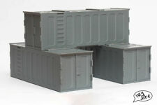 Wargaming Terrain Shipping Crate 40K Necromunda Legion Etc
