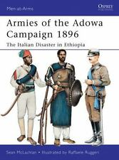 Men-At-Arms: Armies of the Adowa Campaign 1896 : The Italian Disaster in Ethiop…