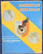 Vintage Magazine American Rifleman, MARCH 1970 !MARLIN 39 Century Ltd. CARBINE!