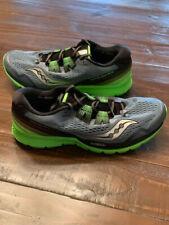 Saucony Men's Zealot ISO 3 Grey/Green Running Shoes Size 11.5 M S20369-1 NIB