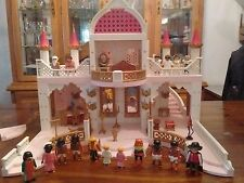 Playmobil Fantasy Fairy Tale Castle With Unicorn Castle Extra Figures Pre-Owned