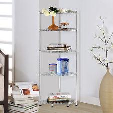 Lifewit Corner Shelf 5 Tiers Adjustable Metal Storage Wire Shelving Rack Unit