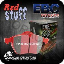 sólo EBC Redstuff Pastillas de freno para Porsche Boxster Spyder de hierro fundido