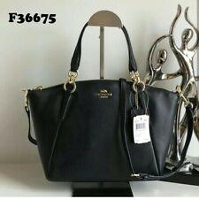 SALE Coach Kelsey Small bag crossbody sling shoulder bag pebbled leather black