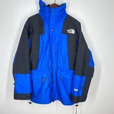 NORTH FACE Jacket 90s Vtg Gore Tex Mountain LITE Parka Fleece Men's L Blue Coat
