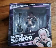 Super Sonico Bondage Ver. 1/7 Guitar Figure Orchid Seed SoniComi, Great Con.
