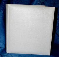Large acid free white interleaved Wedding Photo Album Gift Presents  #6