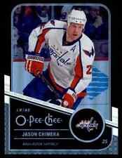 2011-12 O-Pee-Chee Black Rainbow Jason Chimera /100 #253