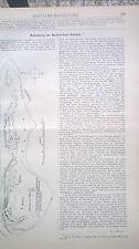 1887 26 Befestigung der Nordsee Insel Ameland