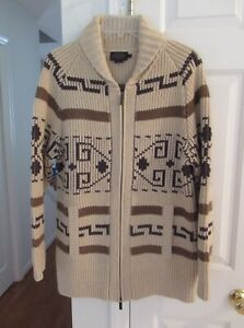 Pendleton Long Westerley Cardigan, Size Misses Small