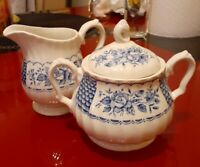 Myott Melody Fine Collection Creamer And Sugar Bowl With Lid Made In  England...