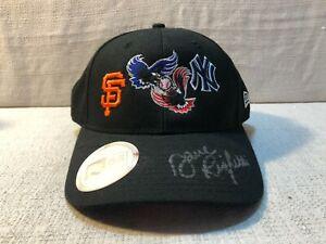 Dave Righetti Signed New York Yankees San Francisco Giants New Era Cap Hat JSA