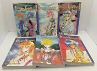 Dragon Knights Lot of 6 (1,2,3,6,7,8) Tokyopop TPB Manga Set Mineko Ohkami