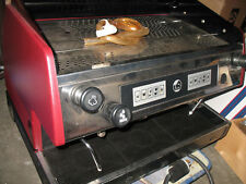 New ListingLa Pavoni Bar Group 2 Espresso Machine, Red Automatic Comercial