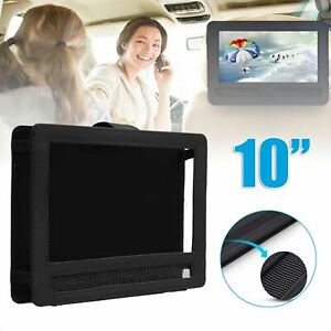 10'' Oxford Car Seat Headrest Portable DVD Player Tablet iPad Mount Strap Holder