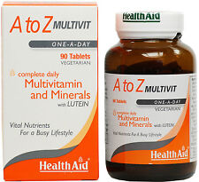 HEALTH AID A TO Z MULTIVIT - 90 TABLETS