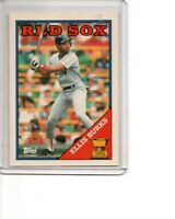 1988 Topps Tiffany #269 Ellis Burks Boston Red Sox