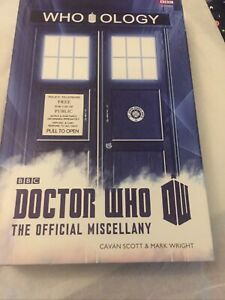 DOCTOR WHO - WHOOLOGY - Hardback Book - The Official Miscellany - BBC