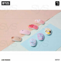 BTS BT21 Official Authentic Goods Wireless Silent Mouse Baby Ver +Traking #