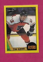 RARE 1987-88 OPC FLYERS TIM KERR  BOX BOTTOM CARD (INV# A5294)