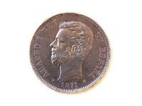 Moneda 5 Pts, Amadeo I, 1871