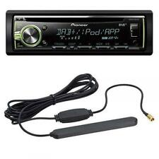 Pioneer DEH-X6800DAB - CD/MP3-Autoradio mit DAB / USB / iPod / AUX + DAB-Antenne