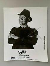 Freddy Krueger Publicity Photo 1984 Freddy's Greatest Hits The Elm Street Group