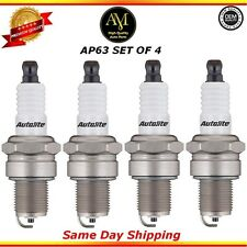 Platinum Spark Plugs AP63 Set of 4 For 90/03 Pontiac Eagle Geo Subaru 1.0L 2.4L