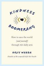 Kindness Boomerang by Wahba, Orly | Paperback Book | 9781250066930 | NEW