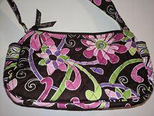 Vera Bradley Zip Top Small Purse Bag Handbag in Purple Punch