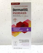 Dermarest Psoriasis Shampoo Conditioner Salicylic Acid 3% 8 fl oz Fragrance Free