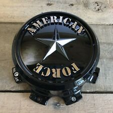 American Force Wheels GLOSS BLACK Wheel Center Cap AFX307G 8-Lug BRAND NEW
