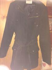 BHS Black Coat Size 16