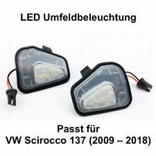 2x LED TOP SMD Umfeldbeleuchtung Weiß 6000K VW Scirocco 137 (2009 – 2018) (7417)