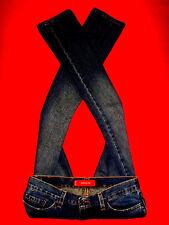 Levi's 518 superlow jeans hüftjeans Blue Denim U.S.A. 519 w30 l32 NUOVA!!! TOP!!!