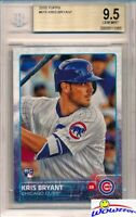2015 Topps #616 Kris Bryant ROOKIE BGS 9.5 GEM MINT Chicago Cubs !