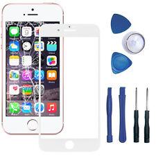 iPhone 5 5S Front Scheibe Frontglas Displayglas Touchglas Reparaturset Weiß