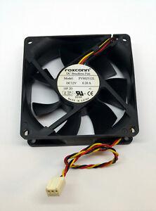 Foxconn DC Brushless Cooling Case Fan PV802512L 3 Pin 12V 0.20A Gateway Dell HP