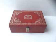 Queens Silver Jubilee 1977 Jewellery Box