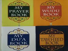 Tawheed, Wudu, Prayer, Dua book and prophet Adam,, Ibrahim  muhammad story books