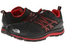 NIB/NEW MENS THE NORTH FACE LITEWAVE HIKING ATHLETIC SHOE BLACK/RED SIZE 12