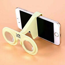 Yellow 3D Virtual Reality VR Box Glasses Headset for Universal Mobile Phone UK