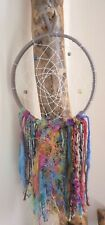 Rainbow Dreamcatcher Boho Home Nursery Bedroom Handmade Hippy