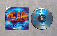 """CD AUDIO MUSIQUE / MC SAR AND THE REAL McCOY """"IT'S ON YOU (REMIX 94)"""" 2T CDS"""