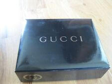 Gucci Guilty Homme Black Box w/ Icon Info on Lid