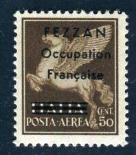 FEZZAN 1943 Yvert PA 1 * TADELLOS FLUGPOST (F4439